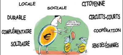 Image de monnaie locale complementaire en action