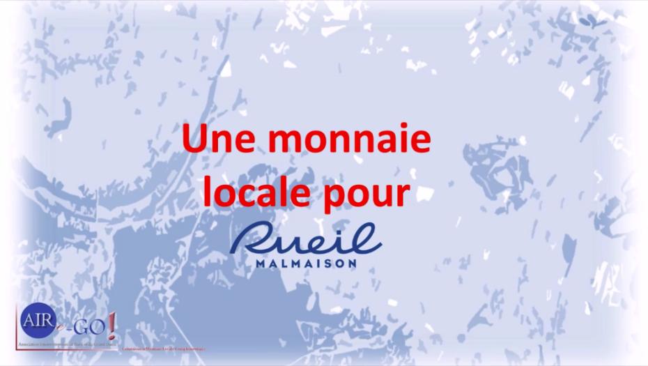 Une monnaie locale pour Rueil Malmaison