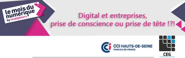 Digital et entreprises, prise de conscience ou prise de tête ?