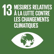 ODD 13 Objectif de developement durable Changements climatiques