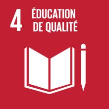 ODD 4 Objectif développement durable Education de qualité