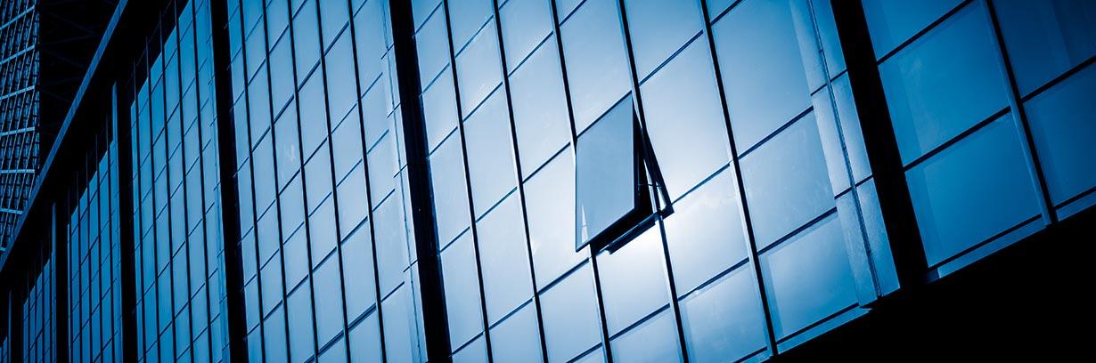 detail shot of skyscrapers